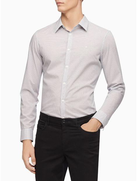 Camisa-The-Stretch-Cotton-Dot-Print