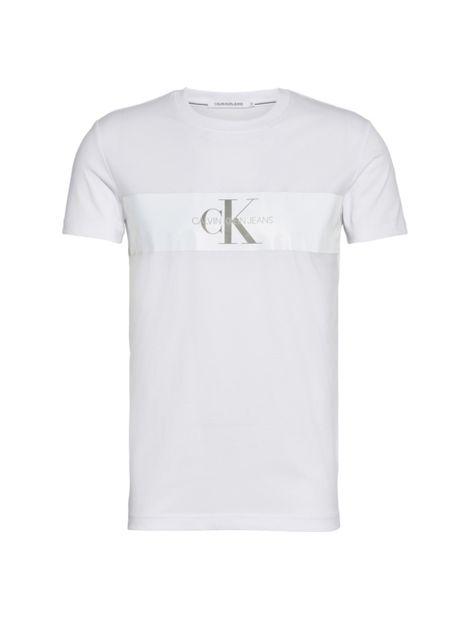 Camiseta-slim-con-raya-reflectante-y-logo