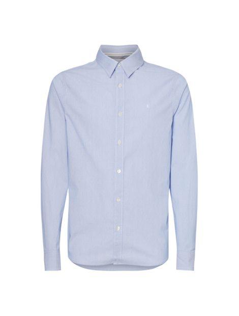 Camisa-slim-de-dobby-de-algodon