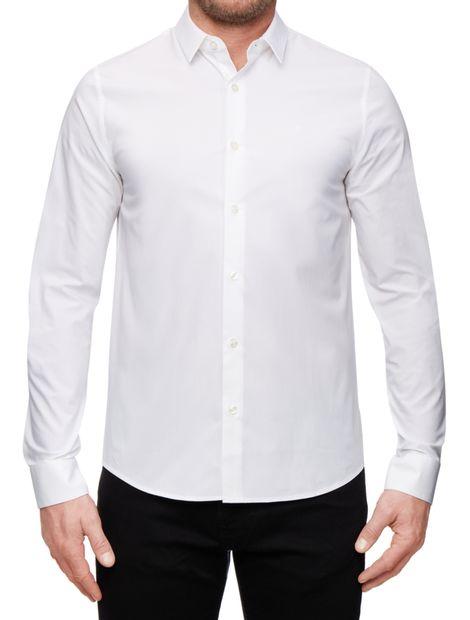 Camisa-slim-de-algodon-stretch